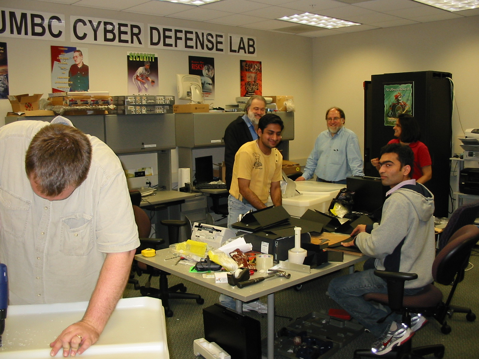 Cyber Defense Lab Meetings